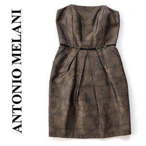 Antonio Melani Strapless Dress Sz 6